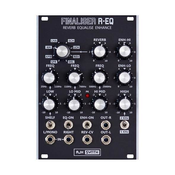 AJH Synth Finaliser R-EQ Eurorack Module, Dark Edition