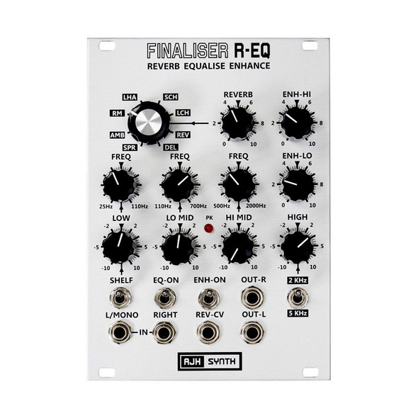 AJH Synth Finaliser R-EQ Eurorack Module, Silver