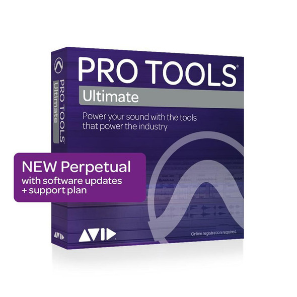 AVID Pro Tools | Ultimate Perpetual License (Download)