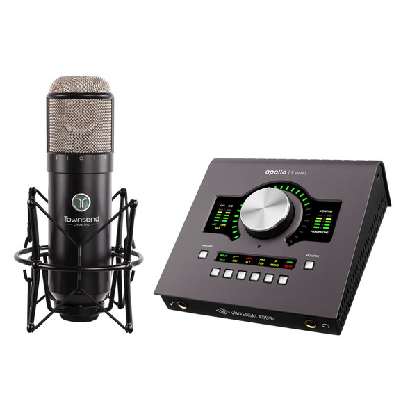Townsend Labs Sphere L22 Microphone Modeling System and Apollo Twin Duo Bundle