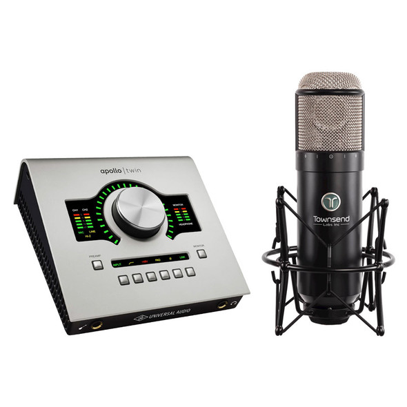 Townsend Labs Sphere L22 Microphone Modeling System and Apollo Twin USB Bundle