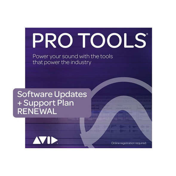 AVID Pro Tools 1Y software Updates+Support Plan RENEWAL (Download)