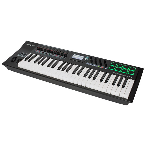 Nektar Panorama T4 Advanced 49 Note USB MIDI Controller Keyboard