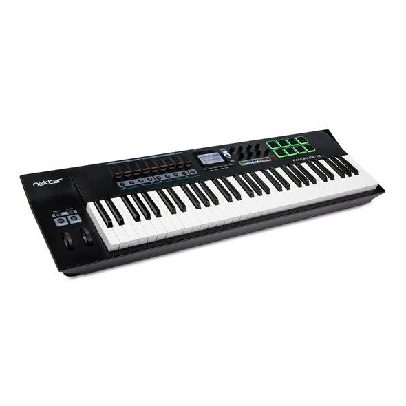 Nektar Panorama T6 Advanced 61 Note USB MIDI Controller Keyboard
