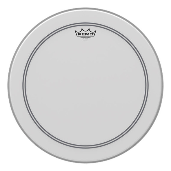 Remo P3-0118-C2 18 Coated Powerstroke 3 Batter Head