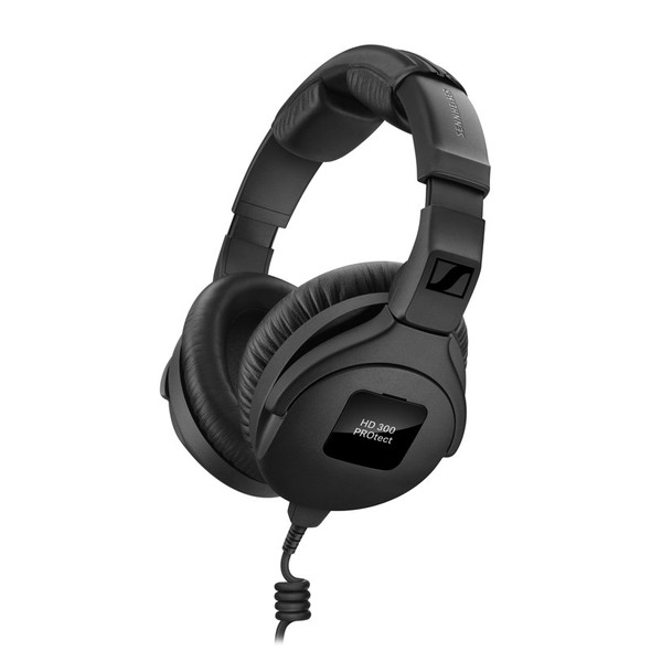 Sennheiser HD300 PROtect Closed Back Headphones with ActiveGard Limiter (Black)