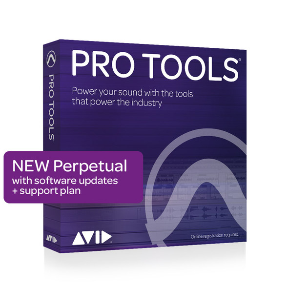 AVID Pro Tools Perpetual License NEW with 1Y updates + support plan (Download)