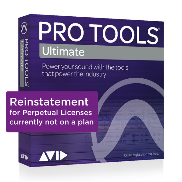 AVID Pro Tools | Ultimate 1-Year Software Updates + Support NEW (Download)