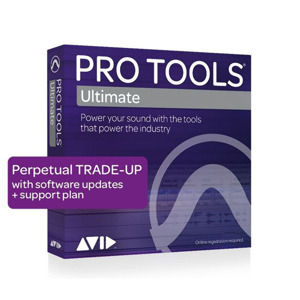 AVID Pro Tools | Ultimate Perpetual License TRADE-UP from Pro Tools (Download)