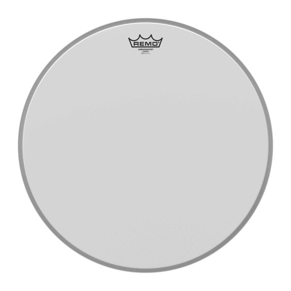 Remo BR-1118-00 18 Inch Coated Ambassador Bass Drum Head