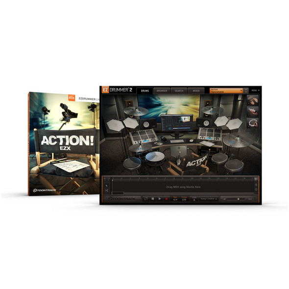 Toontrack EZX - Action Expansion Pack (Serial Download)