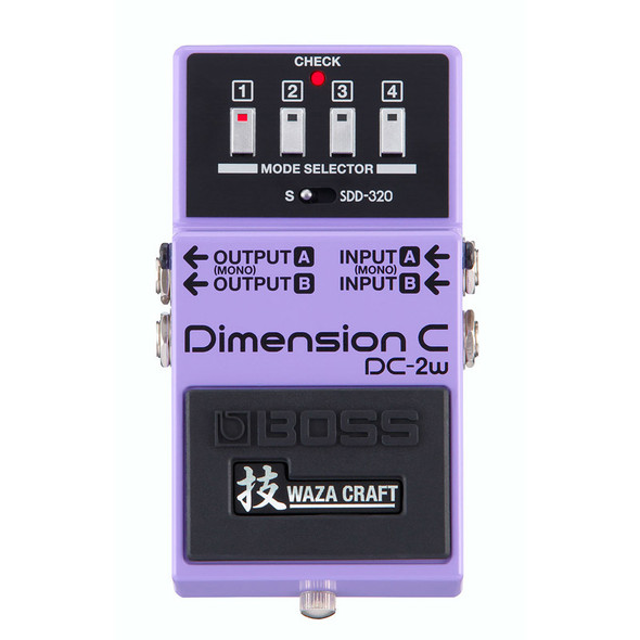 Boss Waza Craft DC-2W Dimension C Effects Pedal