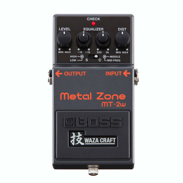 Boss Waza Craft MT-2W Metal Zone Effects Pedal