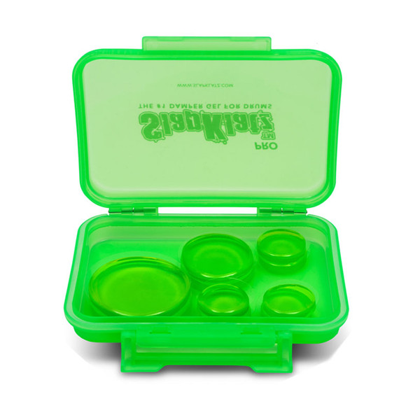 Slapklatz Pro Drum Damper Pack of 10, Green