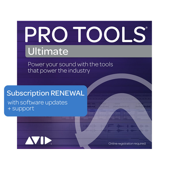 AVID Pro Tools | Ultimate Annual Subscription (Download)