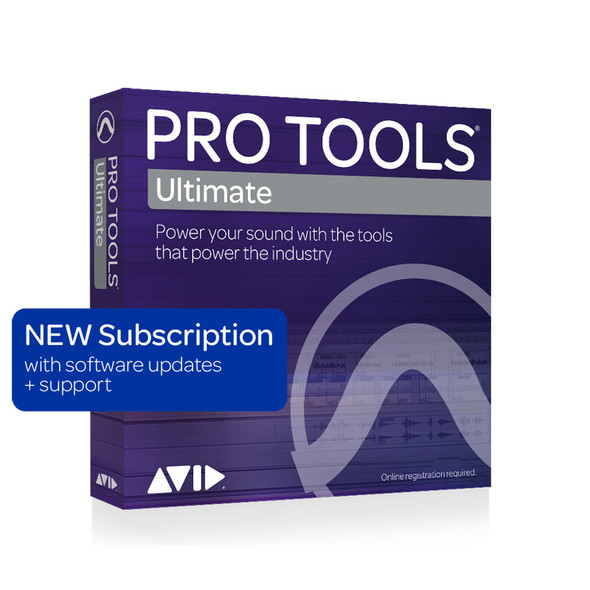 AVID Pro Tools | Ultimate  1-Year Subscription NEW (Download)
