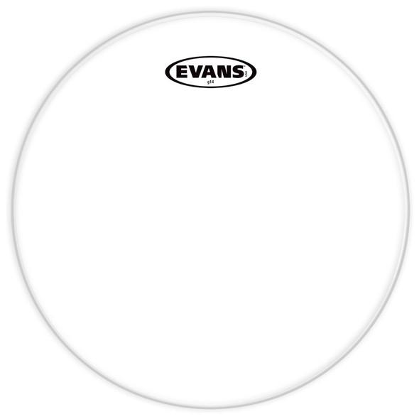 Evans TT14G14 14 Inch G14 Clear Drum Head
