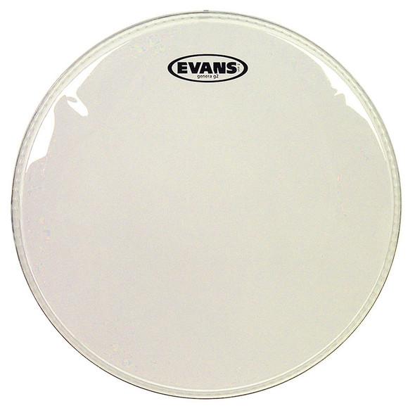 Evans TT14G2 14 Inch Genera G2 Clear Drum Head