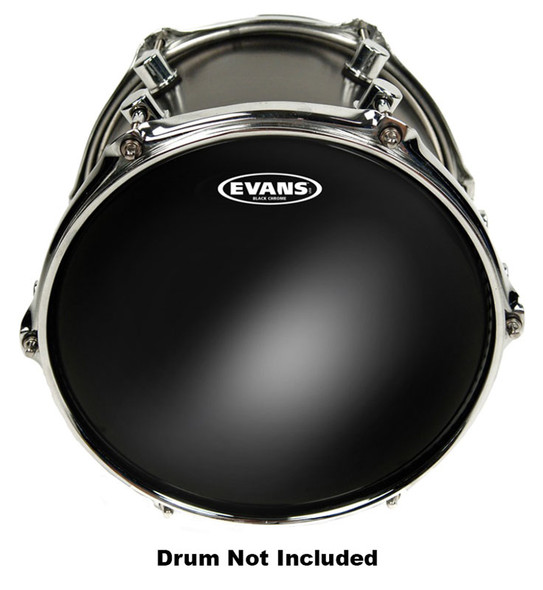 Evans TT16CHR 16 Inch Black Chrome Drum Head