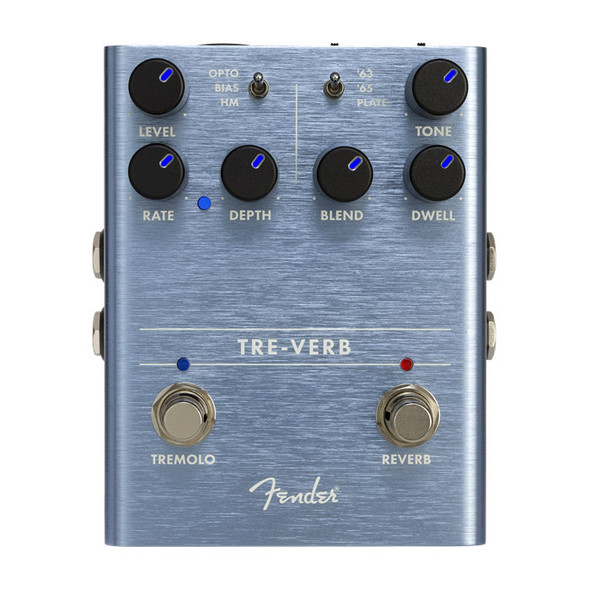 Fender Tre-Verb Digital Reverb/Tremolo Effects Pedal