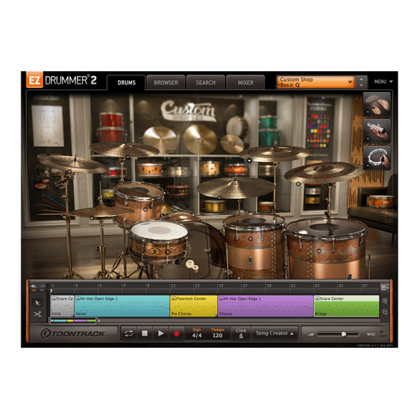 Toontrack EZX Custom Shop (Download)