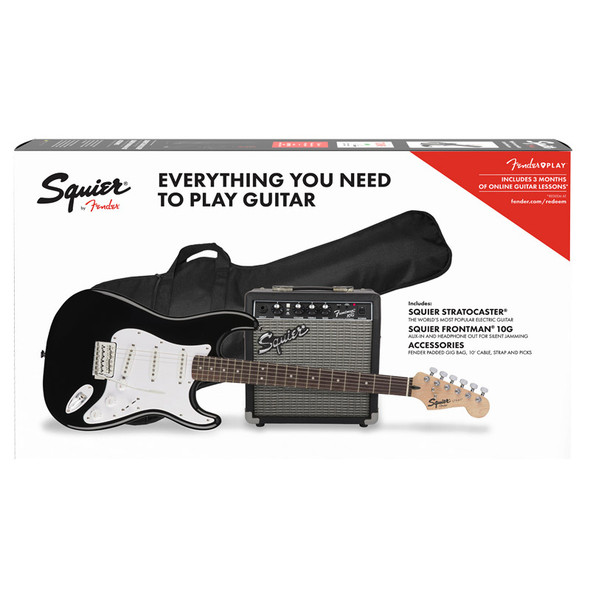Fender Squier Stratocaster Pack, Black