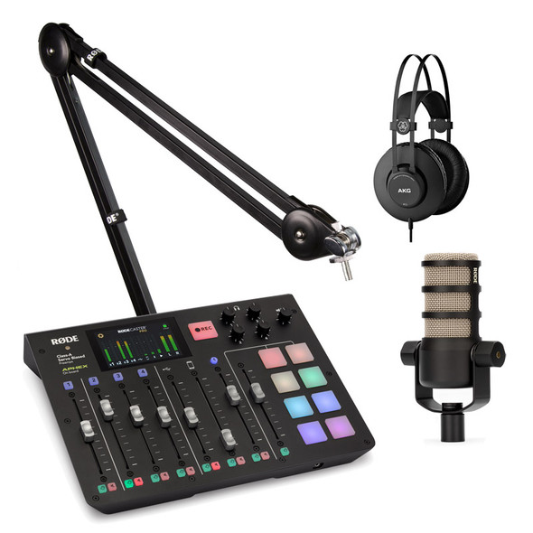 Rode Rodecaster Pro and PodMic Podcasting Bundle