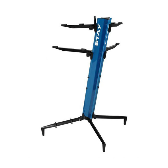 STAY 1300/02 Tower Two Tier Keyboard Stand, Blue