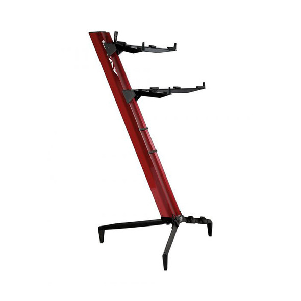 STAY 1300/02 Tower Two Tier Keyboard Stand, Red