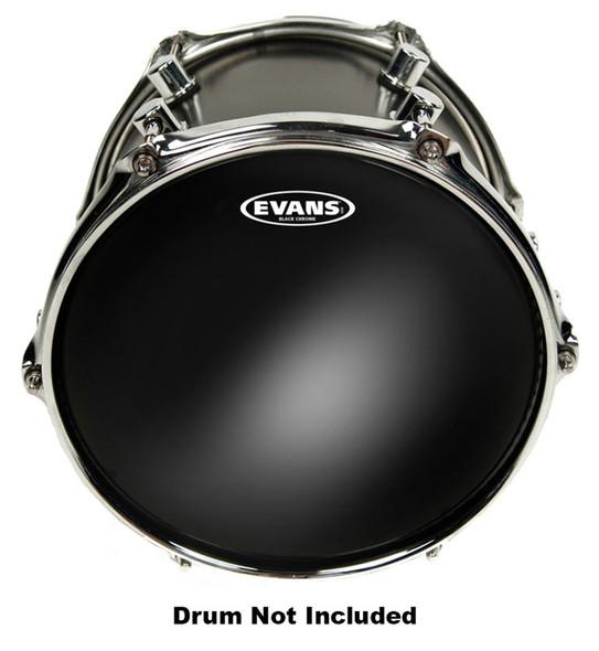 Evans TT08CHR 8 Inch Black Chrome Drum Head