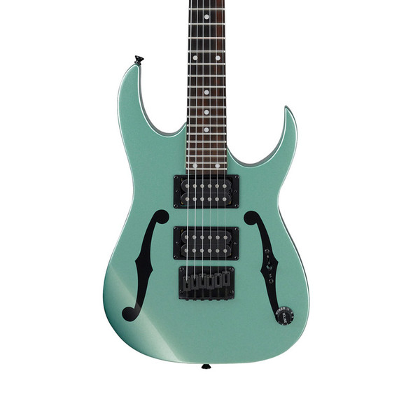 Ibanez PGMM21-MGN miKro Electric Guitar, Metallic Light Green
