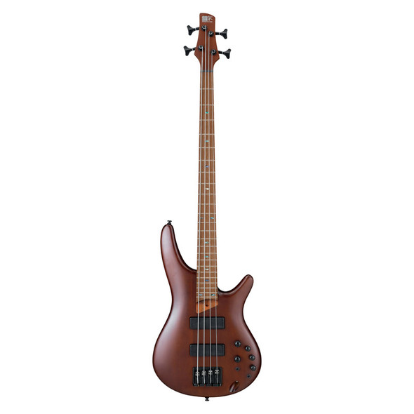 Ibanez SR500E-BM Bass Guitar, Brown Mahogany