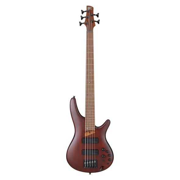 Ibanez SR505E-BM 5 String Bass Guitar, Brown Mahogany