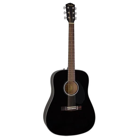 Fender CD-60S Acoustic Guitar, Black