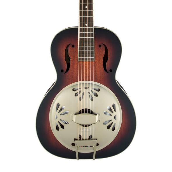 Gretsch G9240 Alligator Round-Neck Resonator Guitar, 2-Color Sunburst