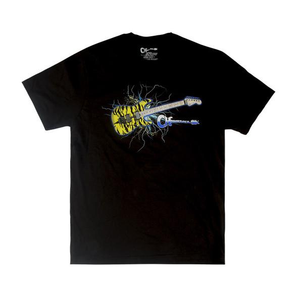 Charvel Satchel Guitar Graphic T-Shirt, Black, Large