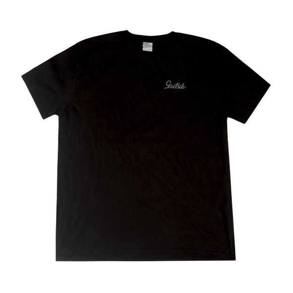 Gretsch 45 Power & Fidelity T-Shirt, Black, Small