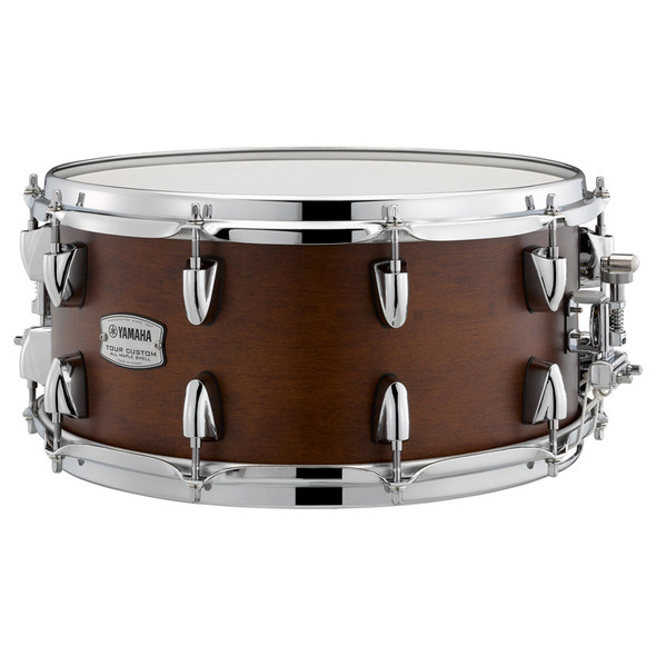 Yamaha Tour Custom 14 x 6.5 Snare Drum in Satin Chocolate