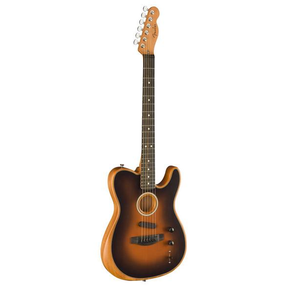 Fender American Acoustasonic Telecaster Electro-Acoustic Guitar, Sunburst