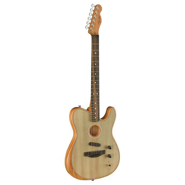 Fender American Acoustasonic Telecaster Electro-Acoustic Guitar, Sonic Gray