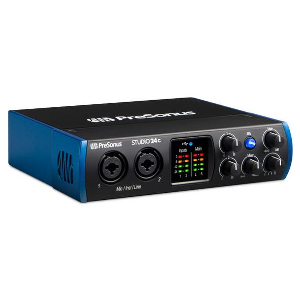 Presonus Studio 24C USB-C Audio & MIDI Interface