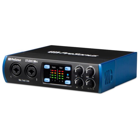 Presonus Studio 26C USB-C Audio & MIDI Interface