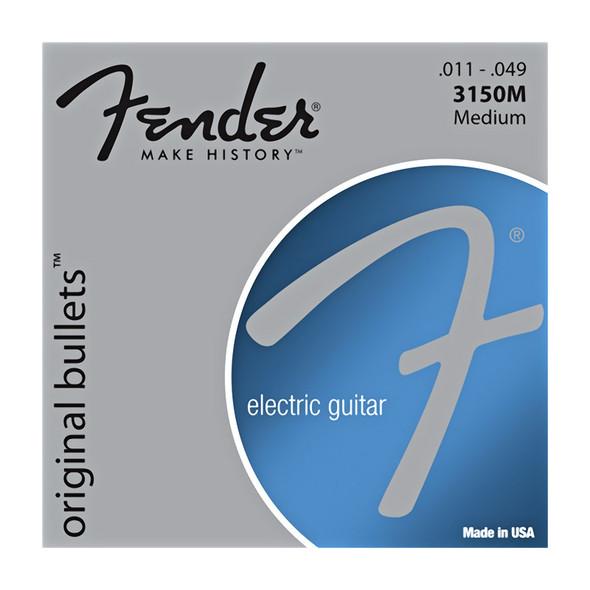 Fender 3150m Pure Nickel Bullet End 11-49 Electric Guitar Strings