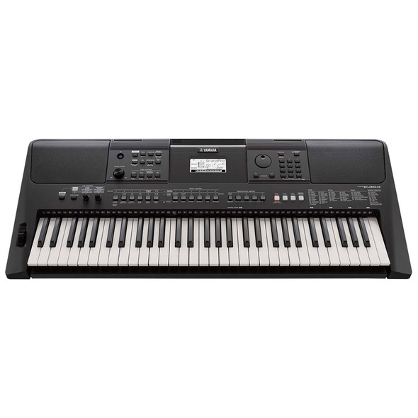 Yamaha PSR-E463 61 note Portable Keyboard Bundle