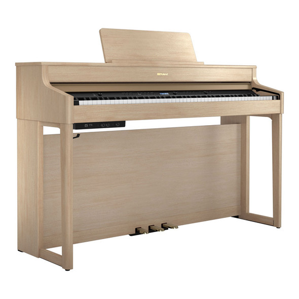 Roland HP702 Concert Class Digital Piano, Light Oak