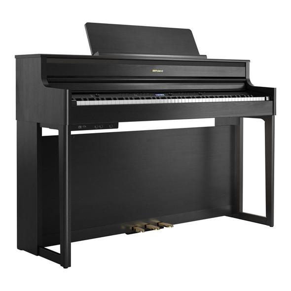 Roland HP704 Premium Concert Class Digital Piano, Charcoal Black