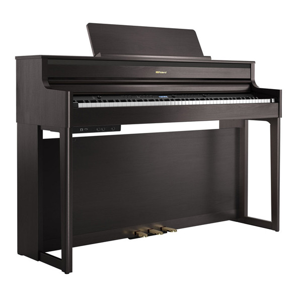 Roland HP704 Premium Concert Class Digital Piano, Dark Rosewood
