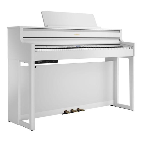 Roland HP704 Premium Concert Class Digital Piano, White