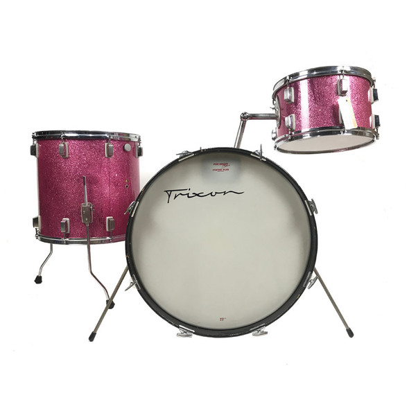 Trixon 1960s 3 Piece Shell Pack in Pink Sparkle (Pre-Owned)