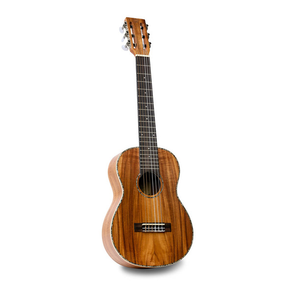 Isuzi East Asian Koa Guitalele w/ Gig-Bag